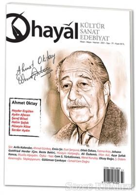Hayal Kültür Sanat Edebiyat Dergisi Sayı: 77 Nisan - Mayıs - Haziran 2021