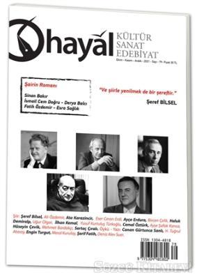 Hayal Kültür Sanat Edebiyat Dergisi Sayı: 79 Ekim - Kasım - Aralık 2021