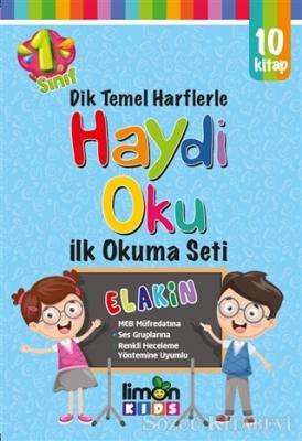 Haydi Oku - 1. Sınıf İlk Okuma Seti (10 Cilt Takım)