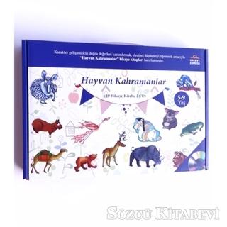 Hayvan Kahramanlar (10 Hikaye Kitabı + 2 CD)