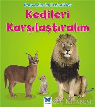 Tracey Steffora - Hayvanlarla Etkinlikler - Kedileri Karşılaştıralım | Sözcü Kitabevi