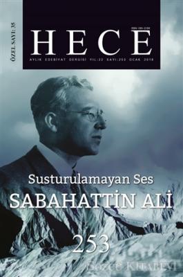 Hece Aylık Edebiyat Dergisi  Sabahattin Ali Özel Sayısı  Sayı: 35 - 253 (Ciltsiz)