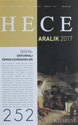 Hece Aylık Edebiyat Dergisi Sayı: 252 - Aralık 2017