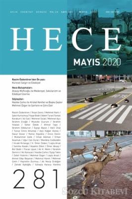 Kolektif - Hece Aylık Edebiyat Dergisi Sayı: 281 Mayıs 2020 | Sözcü Kitabevi