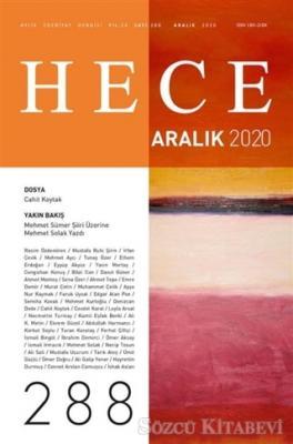 Hece Aylık Edebiyat Dergisi Sayı: 288 Aralık 2020
