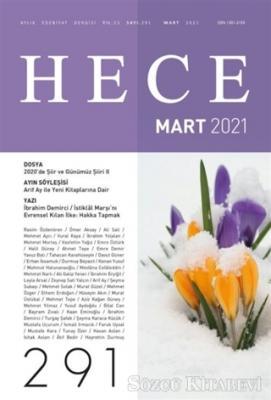 Kolektif - Hece Aylık Edebiyat Dergisi Sayı: 291 Mart 2021 | Sözcü Kitabevi