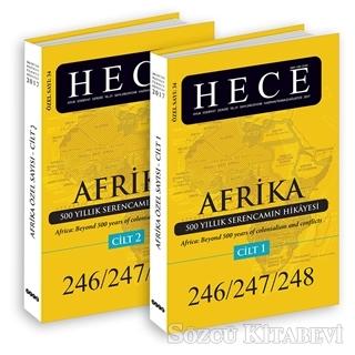 Hece Aylık Edebiyat Dergisi Sayı: 34 - Afrika Özel Sayısı 246/247/248 2 Cilt Takım (Ciltsiz)