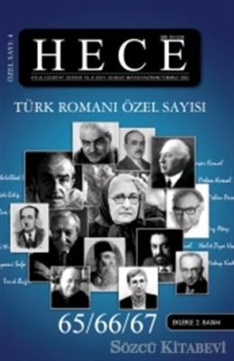 Hece Aylık Edebiyat Dergisi Sayı: 4 - Türk Romanı Özel Sayısı 65/66/67 (Ciltli)