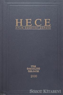 Hece Aylık Edebiyat Dergisi Türk Öykücülüğü Özel Sayısı 2000 (Ciltli)