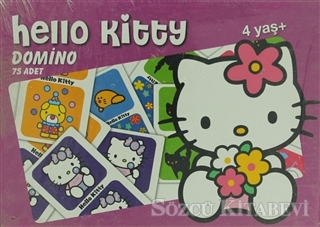 Hello Kitty Domino 75 Parça Puzzle
