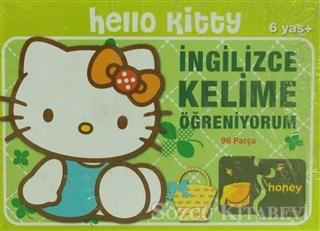 Hello Kitty İngilizce Kelime Öğreniyorum 96 Parça Puzzle