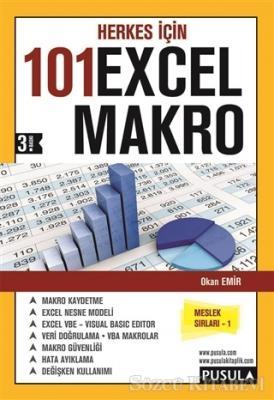 Okan Emir - Herkes İçin 101 Excel Makro | Sözcü Kitabevi