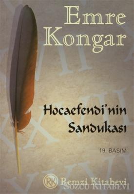 Emre Kongar - Hocaefendi'nin Sandukası | Sözcü Kitabevi