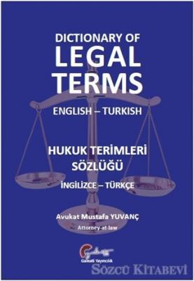 Hukuk Terimleri Sözlüğü (İngilizce-Türkçe)