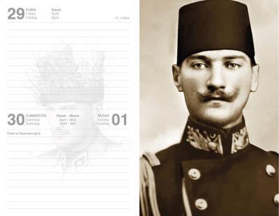 - 2022 Atatürk Ajandası - Ulu Önder   Sözcü Kitabevi