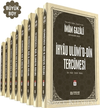 İhya-u Ulumid'd-Din Tercümesi Büyük Boy (8 Cilt Takım)