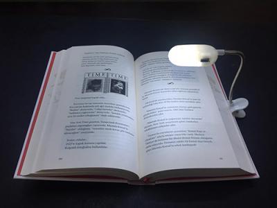 - Led Işıklı Kitap Okuma Lambası | Sözcü Kitabevi
