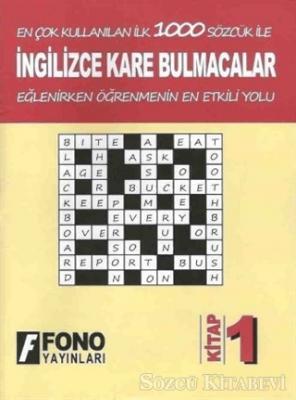 İngilizce Kare Bulmacalar 1. Kitap