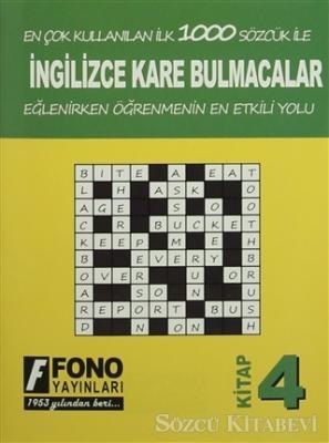 İngilizce Kare Bulmacalar 4. Kitap
