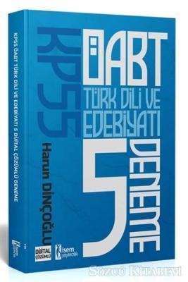 İsem 2021 KPSS ÖABT Türk Dili ve Edebiyatı Öğretmenliği Tamamı Çözümlü 5 Deneme