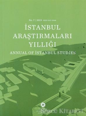 İstanbul Araştırmaları Yıllığı No: 7 / 2019