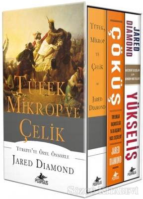 Jared Diamond - Jared Diamond Seti (3 Kitap Takım) | Sözcü Kitabevi