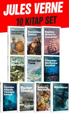 Geleceğin Çocukları - Jules Verne 10 Kitap Bir Arada