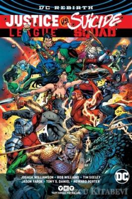 Joshua Williamson - Justice League vs Suicide Squad   Sözcü Kitabevi