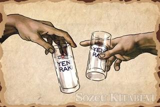 Kadeh Rakı Poster