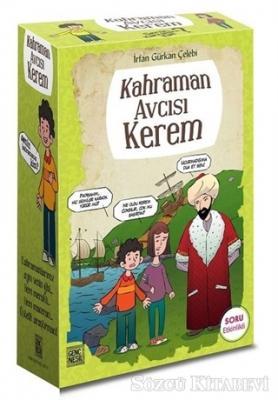İrfan Gürkan Çelebi - Kahraman Avcısı Kerem (5 Kitap Kutulu) | Sözcü Kitabevi