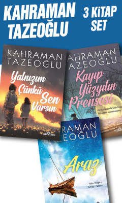 Kahraman Tazeoğlu 3 Kitap Set