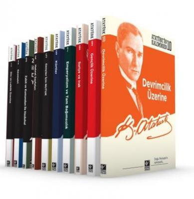 Mustafa Kemal Atatürk - Atatürk'ün Kaleminden Serisi (10 Kitap Takım) | Sözcü Kitabevi