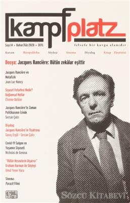 Kolektif - Kampfplatz Felsefe ve Sosyal Bilimler Dergisi Sayı: 14 Bahar/Güz 2020 | Sözcü Kitabevi