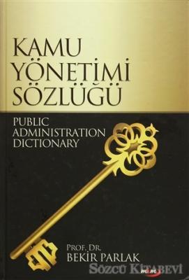 Kamu Yönetimi Sözlüğü