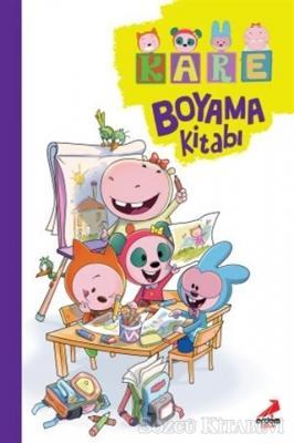 Kare - Boyama Kitabı