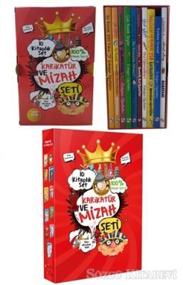 Karikatür ve Mizah Seti (10 Kitap Takım)