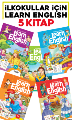 İlkokullar İçin Learn English 5 Kitap Set