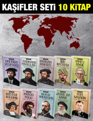 Turan Tektaş - Kaşifler 10 Kitap Set + 2 Hediye | Sözcü Kitabevi