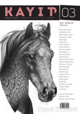 Kolektif - Kayıp Kayıt Edebiyat Kültür ve Sanat Dergisi Sayı: 3 Mayıs - Haziran 2021 | Sözcü Kitabevi