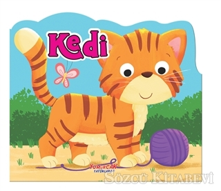 Kedi - Şekilli Kitap