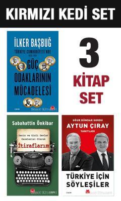 Sabahattin Önkibar - Kırmızı Kedi Çok Satanları Set | Sözcü Kitabevi