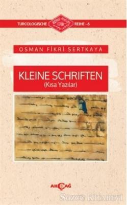 Kleine Schriften (Kısa Yazılar)