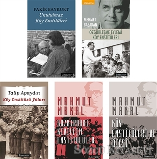 Fakir Baykurt - Köy Enstitüleri Seti (5 Kitap Takım) | Sözcü Kitabevi