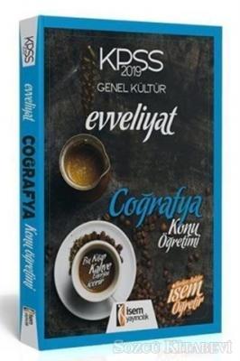 Kolektif - KPSS 2019 Evveliyat Coğrafya Konu Öğretimi   Sözcü Kitabevi