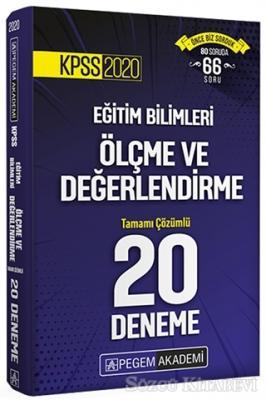 KPSS 2020 Eğitim Bilimleri Ölçüm ve Değerlendirme Tamamı Çözümlü 20 Deneme