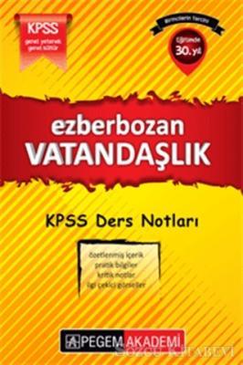 Kolektif - KPSS Ezberbozan Vatandaşlık Ders Notları | Sözcü Kitabevi