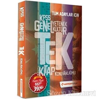 KPSS Genel Yetenek Genel Kültür Konu Anlatımlı Tek Kitap