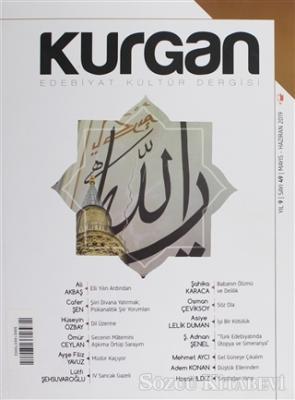 Kolektif - Kurgan Edebiyat Dergisi Sayı: 49 Mayıs - Haziran 2019 | Sözcü Kitabevi