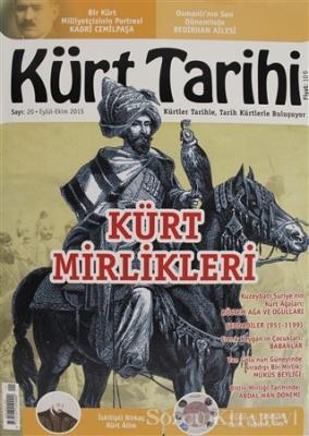 Kürt Tarihi Dergisi Sayı: 20 Eylül - Ekim 2015