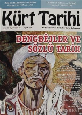 Kürt Tarihi Dergisi Sayı: 26 Eylül - Ekim 2016